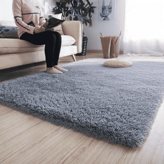 Soft Grey Rug
